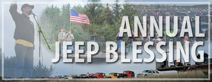 Cadillac Jeepers Annual Jeep Blessing
