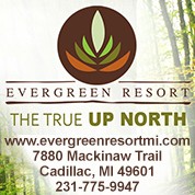 Evergreen Resort Cadillac Michigan